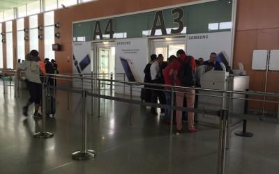 Casablanca-Valencia delayed