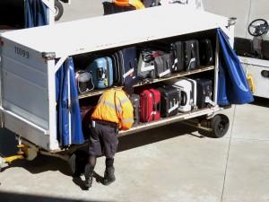maletas en pista