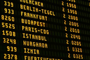 panel vuelos