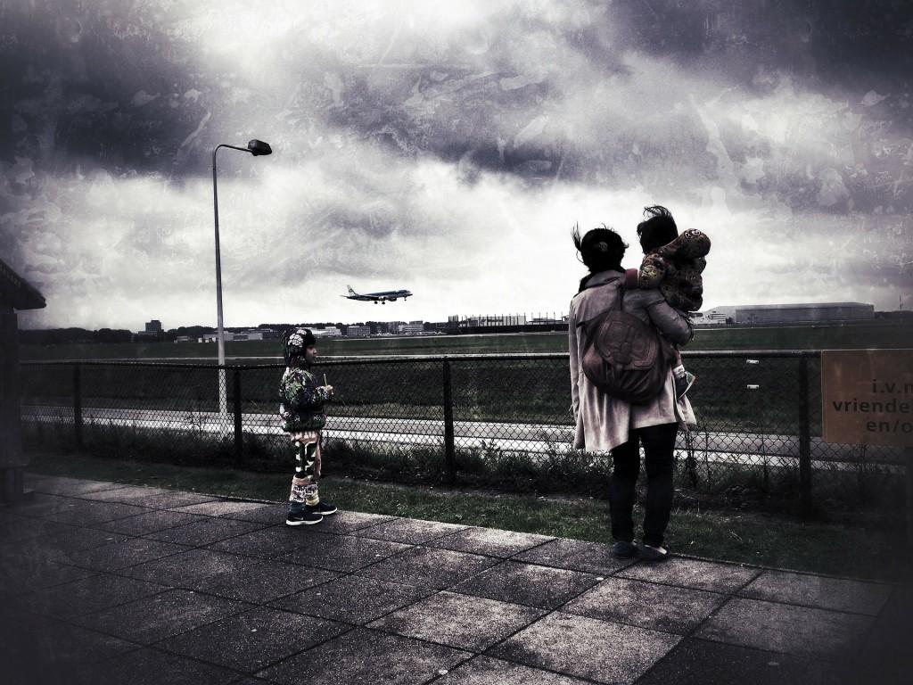 volas con niños